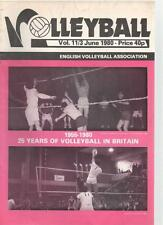 VOLLEYBALL MAGAZINE - June 1980