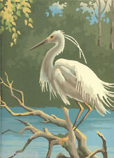 White Stork  Scene  Paint By Number  Refrigerator / Tool  Box  Magnet
