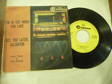 "PAUL TERRY&ROBOTS""I'M IN THE MOOD FOR LOVE-disco 45 giri RCA It 1959"""