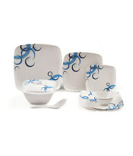 LUMINECK MELAMINE DINNER SET 33 PCS (FL-002) - BEST GIFTING PURPOSE !