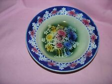 "Vintage Ditmar-Urbach Austria Hand-painted Collector's 9"" Salad Bowl"