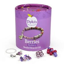 Pipkits Jewellery Making Bead Bracelet Kit - Blackberry (E68)
