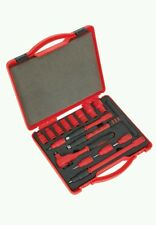 "Neilsen Electricians 1000V Insulated 16Pcs 3/8"" VDE Socket Ratchet Tool Set. New"