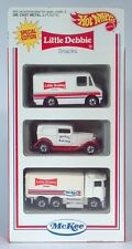 1994 Hot Wheels Little Debbie Set Of 3 Die Cast Scale Models Highway Hauler