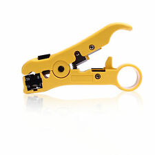 New Coax Stripper Cable Cutter for Coaxial RG6 RG59 RG7 RG11 Network Tool Gift