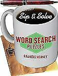 NEW - Sip & Solve(R): Word Search Puzzles (Sip & Solve(R) Series)