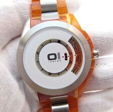 "01 THE ONE,""The Emerald Surge"" OUT OF PROD Digital Discs MENS WATCH,NIB R2-07"
