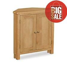 Corner Cupboard / Display / Unit - Oak Furniture Sale ✔ - Free Delivery ✔