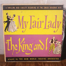 The New World Theatre Orchestra My Fair Lady / The King and I LP Somerset EX