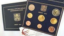 coffret BU VATICAN 2014 8 pièces 3,88 EURO Vaticano Vatikan François Francesco