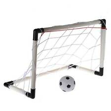 1 Set Childrens Mini Football Soccer Goal Post + Net + Ball +Pump Kid Toy Funny