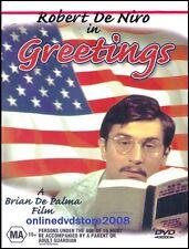 GREETINGS (Robert DE NIRO) Comedy - Brian DE PALMA Film DVD (NEW SEALED) Reg 4