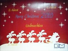 Rietze Adventskalender 2010, mit 5 Automodellen mit Teilen in 1/87, NEU&OVP