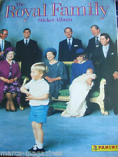 RARE PANINI ROYAL FAMILY PRINCE CHARLES LADY DIANA HARRY WILLIAM EDWARD QUEEN