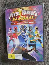 POWER RANGERS...Saban's Power Rangers, GO GO Samurai...NIP...DVD NEW