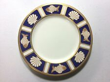 """Mikasa Cathy Hardwick Cobalt Blue Fish and Shell A6501 Salad Plate s 7 5/8"""""""
