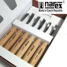 NAREX 894710 STANDARD 6 PIECE CARVING SET WOOD TOOL WHITTLING CHIP CARVERS