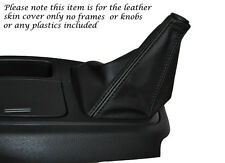BLACK STITCHING LEATHER MANUAL GEAR GAITER FITS HYUNDAI I LOAD 2008-2014