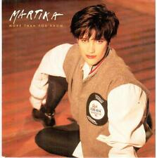 "1529  7"" Single: Martika - More Than You Know / same (Spanish-Version)"