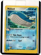 2003 Pokemon EX Ruby & Sapphire #14 Wailord HOLO R