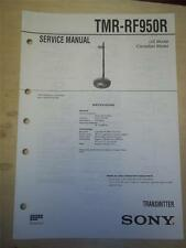 Sony Service Manual~TMR-RF950R Transmitter~Original~Repair