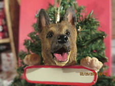 GERMAN SHEPHERD ORNAMENT # 75