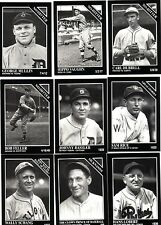 1992 The Sporting News Conlon Collection 9 card lot no double All mint !