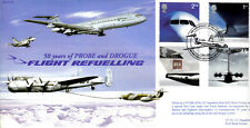 CC66 RAF Vickers VC10 flight refuelling Airliners FDC VC10 Postmark 2002 Full