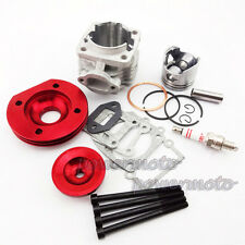 44mm BIG BORE KIT SET PER 47cc 49cc Mini Dirt ATV Pocket Bike Minimoto ROSSO