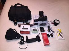 Canon EOS 60D 18.0MP Digital SLR Camera - Black with extra's