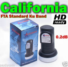 New Single Standard Linear Ku Band LNBF 0.2dB FTA Satellite Dish LNB