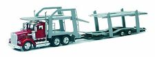 New  Ray 1:43   Kenworth W900 w/Dbl Decker Auto Carrier  NRY15213