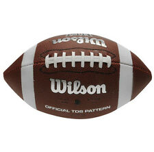 Wilson NFL pattern Soft Grip American Football Official TDS Super Bowl nuevo