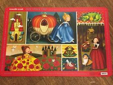 Children's Dinner Place Mats By Crocodile Creek - Once Upon A Time