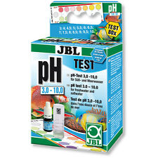 JBL pH 3-10 Test Kit Set for Fresh Water and Marine Aquariums