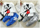 2pcs cotton kids baby boys T shirt + pants Set Outfits summer fall clothing