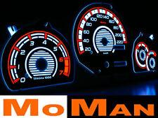 FORD ESCORT MK4 MK5 MK6 MK7 plasma tacho glow gauges plasma dials INDIGLO PUMA