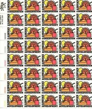 Scott 1723 - Energy Conservation. Sheet Of 40  MNH. OG. #02 1723