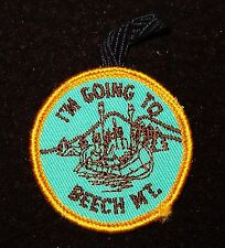 BOY SCOUT  I'M GOING TO BEECH MT. SCOUT CAMP  60'S PP HUDSON-DELAWARE CNCL  NY