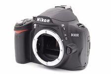 NIKON D3000 DIGITAL CAMERA BODY - BROKEN / NO POWER / SOLD AS IS
