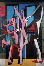 ART PRINT - The Three Dancers, 1925 by Pablo Picasso 28x20 Cubism Dance Poster