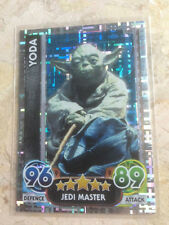 STAR WARS Force Awakens - Force Attax Trading Card #198 Yoda