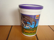 NOS Gargoyles Color Transformation Cup Burger King Disney Kids ClubToys 1995