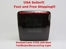 2013 2014 2015 2016 Nissan 370Z Smoked LED 4th Tail Brake Reverse Fog Light Lamp