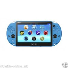 Aqua Blue Sony PS Vita PSV Console Slim PCH-2006 (2000ZA23) *UK* TAX FREE