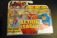 DC UNIVERSE 2011 ACTION LEAGUE THE ATOM AND PLASTIC MAN GLIDER SET