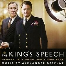 "ALEXANDRE DESPLAT ""THE KINGS SPEECH"" SOUNDTRACK CD NEU"