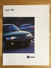 Saab 900 brochure 1994 - S, SE, Turbo, V6