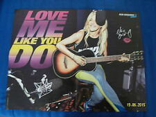 Ellie Goulding Love Me Like You Do & Berlin Tag & Nacht Gruppe Groß Poster Bravo