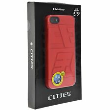 SwitchEasy CITIES Durable Case with FRONT/BACK Film for iPhone SE / 5 / 5s CHINA